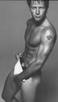 Jon Bon Jovi naked