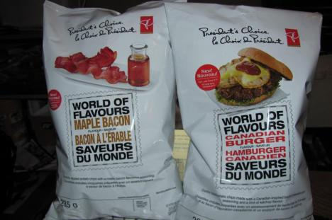 Canadian Burger flavoured potato chips. The asshole who invented these needs to die.